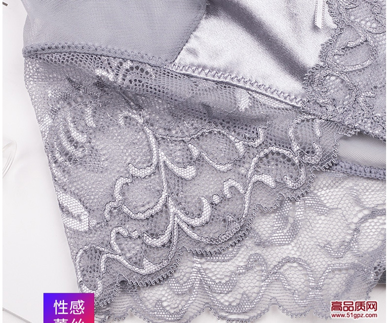 新款轻奢纯棉裆低腰冰丝无痕三角裤性感舒适蕾丝透明女内裤
