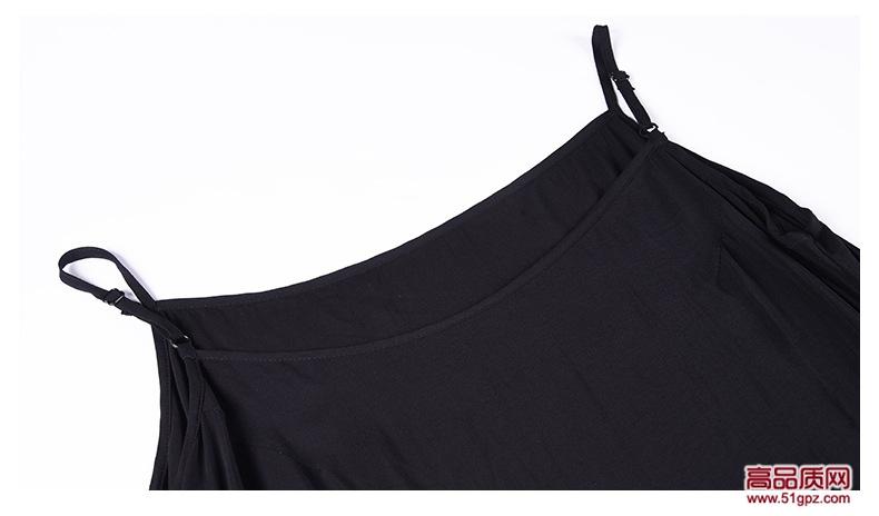 2018夏季新款黑色小黄花欧美高端女装轻奢名媛时尚大码真丝顺纡印花连衣裙子